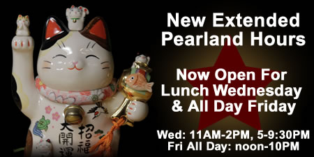 Lunch Hours at Little tokyo Pearland - Friday and Wednesday